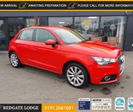 USED 2014 AUDI A1 1.2 SPORTBACK TFSI SPORT 5D 86 BHP HATCHBACK 67,124 MILES IN RED FOR SAL