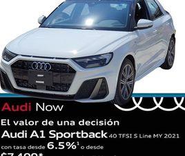 AUDI A1 2.0 S-LINE 40 190HP