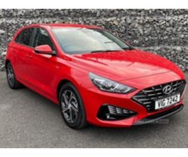 USED 2021 HYUNDAI I30 1.0T GDI SE CONNECT 5DR HATCHBACK 100 MILES IN RED FOR SALE | CARSIT