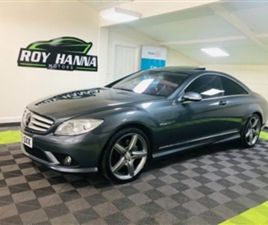 USED 2009 MERCEDES-BENZ CL 5.5 CL 500 2D 383 BHP COUPE 84,000 MILES IN GREY FOR SALE | CAR