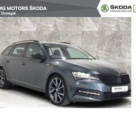 SKODA SUPERB COMBI 2.0TDI 150BHP DSG SPORTLINE S FOR SALE IN DONEGAL FOR €42,900 ON DONEDE