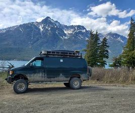 CAMPERIZED 2001 FORD E250 4X4