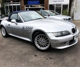 USED 2001 BMW Z3 2.2 M SPORT CONVERTIBLE 67,000 MILES IN SILVER FOR SALE | CARSITE