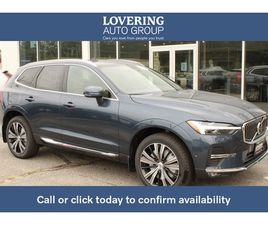 BRAND NEW BLUE COLOR 2022 VOLVO XC60 B6 INSCRIPTION FOR SALE IN CONCORD, NH 03301. VIN IS