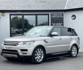 USED 2017 LAND ROVER RANGE ROVER SPORT DIESEL ESTATE NOT SPECIFIED 43,000 MILES IN GOLD FO
