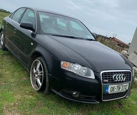 1.9 TDI S-LINE A4 B7 FOR BREAKING FOR SALE IN CLARE FOR €1 ON DONEDEAL