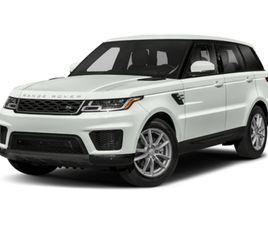 USED 2020 LAND ROVER RANGE ROVER SPORT HSE
