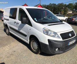 FIAT SCUDO MJT 120 CABINE APPROFONDIE 5PLACES