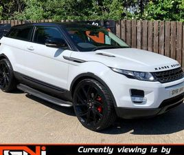 OCT 2011 RANGE ROVER EVOQUE 2.2 SD4 PURE FOR SALE IN DERRY FOR £14,995 ON DONEDEAL