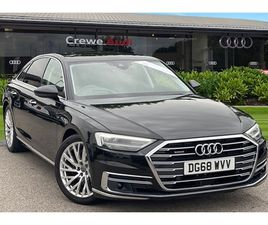 USED 2018 AUDI A8 55 TFSI QUATTRO 4DR TIPTRONIC SALOON 14,998 MILES IN BLACK FOR SALE   CA
