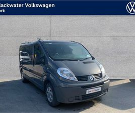 RENAULT TRAFIC LL29 DCI PRICE QUOTED IS EX VAT FOR SALE IN CORK FOR €8,126 ON DONEDEAL
