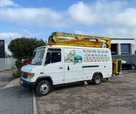 1999 MERCEDES VARIO 814 CHERRY PICKER - FOR SALVAGE OR SPARES