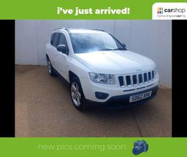 2012 JEEP COMPASS 2.2CRD LIMITED (161BHP) - £9,300