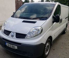 RENAULT TRAFIC, 2013 3 LWB LR 29 COMFORT 115 FOR SALE IN MEATH FOR €6,250 ON DONEDEAL