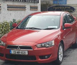 MITSUBISHI LANCER, 2013 (LOW MILEAGE) FOR SALE IN DUBLIN FOR €6,950 ON DONEDEAL