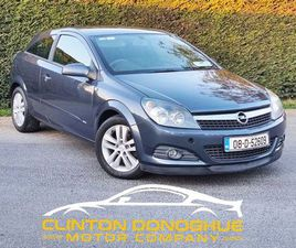 08 OPEL ASTRA GTC 1.4 SXI - STUNNING FOR SALE IN DUBLIN FOR €2,750 ON DONEDEAL