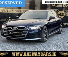 19☘️LOOK! AUDI A8 3.0 50TDI S-LINE QUATTRO (RARE) FOR SALE IN GALWAY FOR €64,250 ON DONEDE