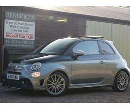 ABARTH 500 1.4 695 RIVALE 3D 177 BHP 3X RECORDED ABARTH SERVICES