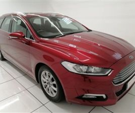 USED 2017 FORD MONDEO 1.5 TITANIUM ECONETIC TDCI 5D 114 BHP ESTATE 98,047 MILES IN RED FOR