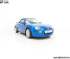 AN ASTONISHING LIMITED EDITION MGF TROPHY 160 SE WITH JUST 11,888 MILES