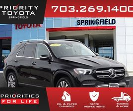 BLACK COLOR 2020 MERCEDES-BENZ GLE 350 4MATIC FOR SALE IN SPRINGFIELD, VA 22150. VIN IS 4J