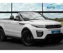 2018 LAND ROVER RANGE ROVER EVOQUE 2.0TD4 HSE DYNAMIC 4X4 (S/S) CONVERTIBLE 2D AUTO - £36,