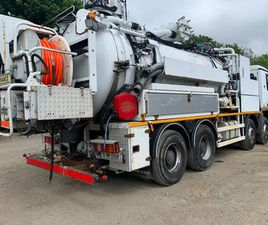 WATER RECYCLER VACUUM TANKER DRAIN JETTER TRUCK FOR SALE IN WICKLOW FOR €0 ON DONEDEAL