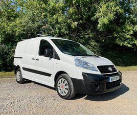 2011 FIAT SCUDO 1.6TD COMFORT L1 H1 PANEL - £3,950