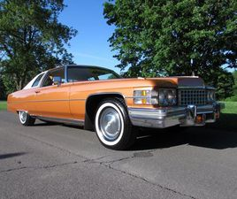 1974 CADILLAC COUPE DEVILLE COUPE