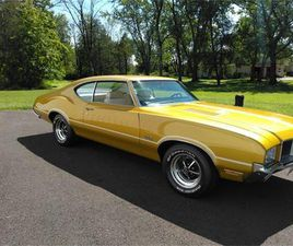 FOR SALE AT AUCTION: 1971 OLDSMOBILE 442 IN CARLISLE, PENNSYLVANIA