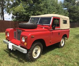 1971 LAND ROVER 88 SERIES SERIES LLL 88