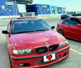 BMW E46 SEDAN 2005 ZHP. RARE. IMOLA RED. ALCANTARA | CARS & TRUCKS | MARKHAM / YORK REGION