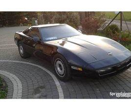 CHEVROLET CORVETTE C4 1985 ROK 5.7 V8 ZAREJESTROWANY NIEPORĘT - SPRZEDAJEMY.PL