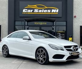 USED 2016 MERCEDES-BENZ E CLASS 2.1 E220 BLUETEC AMG LINE 2D 174 BHP COUPE 85,000 MILES IN