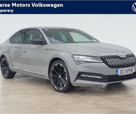 SKODA SUPERB 11.4 TSI IV 13KWH SPORTLINE PLUS DSG FOR SALE IN TIPPERARY FOR €43,950 ON DON