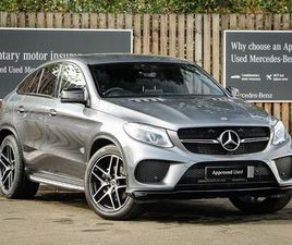 MERCEDES-BENZ GLE COUPE GLE 350D 4MATIC AMG NIGHT EDITION 5DR 9G-TRONIC 3.0