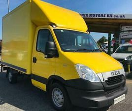 2013 IVECO DAILY CHASSIS CAB 3450 WB LUTON VAN CHASSIS CAB DIESEL MANUAL