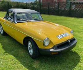 1978 MGB ROADSTER O/DRIVE FULLY RESTORED IN SUPERB CONDITION NEW MOT &TAX EXEMPT