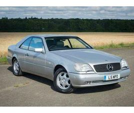 1998 MERCEDES-BENZ W140 CL420 - SILVER WITH GREY LEATHER - 84K MILES FSH