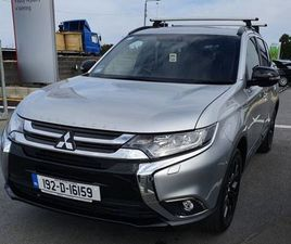 MITSUBISHI OUTLANDER 4WD AT BLACK LINE 4D FOR SALE IN DUBLIN FOR €35,950 ON DONEDEAL