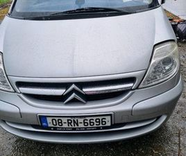 CITROEN C8 FOR SALE IN MAYO FOR €3,000 ON DONEDEAL