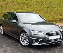 AUDI A4 AVANT QUATTRO S LINE 40 TDI FOR SALE IN DUBLIN FOR €44,950 ON DONEDEAL