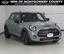 GRAY COLOR 2021 MINI COOPER HARDTOP S FOR SALE IN GAITHERSBURG, MD 20879. VIN IS WMWXU9C03