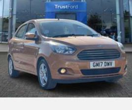 KA+ ZETEC 5 DR WITH AIR CONDITIONING, ALLOY WHEELS AND FRONT ELECTRIC WIND