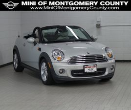 GRAY COLOR 2012 MINI COOPER ROADSTER BASE FOR SALE IN GAITHERSBURG, MD 20879. VIN IS WMWSY