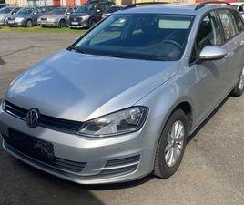VW GOLF VARIANT 1,6 TDI 81 KW V PERFEKTNÍM STAVU - KRASLICE, SOKOLOV