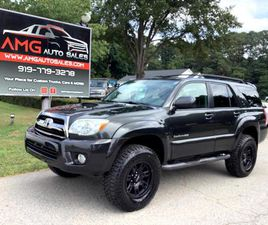 FOR SALE: 2008 TOYOTA 4RUNNER IN RALEIGH, NORTH CAROLINA