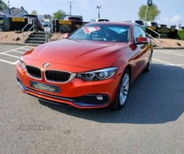 USED 2018 BMW 4 SERIES GRAN COUPE 420D XDRIVE SPORT COUPE 39,000 MILES IN ORANGE FOR SALE