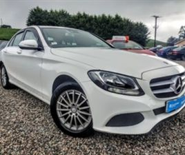 USED 2014 MERCEDES-BENZ C CLASS DIESEL SALOON SALOON 98,394 MILES IN WHITE FOR SALE   CARS