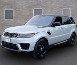SILVER COLOR 2019 LAND ROVER RANGE ROVER SPORT HSE FOR SALE IN CLARKSVILLE, MD 21029. VIN